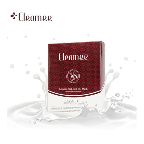 CLEOMEE - Donkey Real Milk Oil Mask - Whitening & Anti-wrinkle | 克丽奥美 CLEOMEE - 真驴奶油面膜
