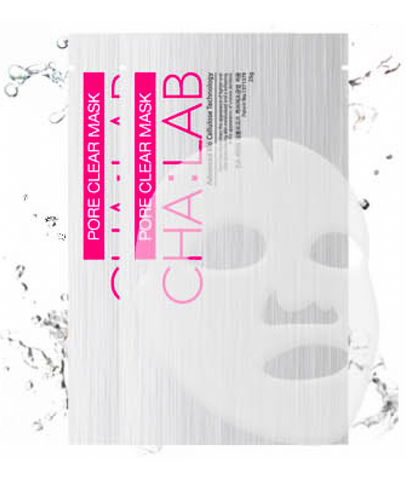 CHA:LAB - Pore Clear Mask - Advanced Bio Cellulose Technology | CHA:LAB - 3D微导透析面膜人皮面膜 - 清洁粉色款