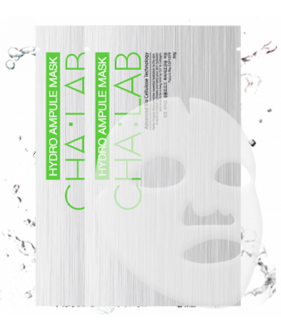 CHA:LAB - Hydro Ampule Mask - Advanced Bio Cellulose Technology | CHA:LAB - 3D微导透析人皮面膜 - 深层清洁补水