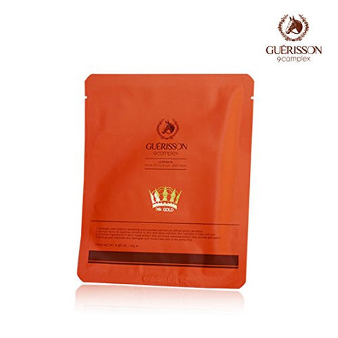 GUERISSON - Mayu (Horse Oil) Hydrogel Gold Mask | 九朵云 GUERISSON - 奇迹马油24k黄金面膜