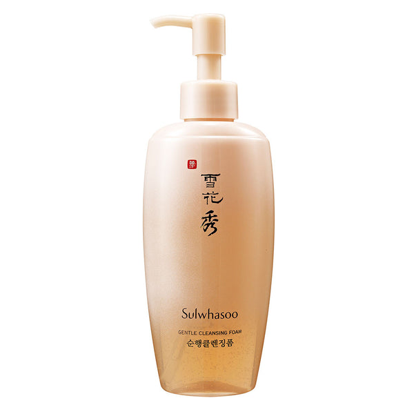 Sulwhasoo Gentle Cleansing Foam  | 雪花秀顺行柔和洁颜泡沫