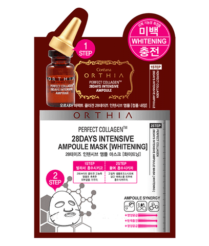 CORÉANA - Orthia Perfect Collagen - 28 Days Intensive Ampoule Whitening Mask | 高丽雅娜 CORÉANA - 肉毒杆菌涂抹式精华美白面膜