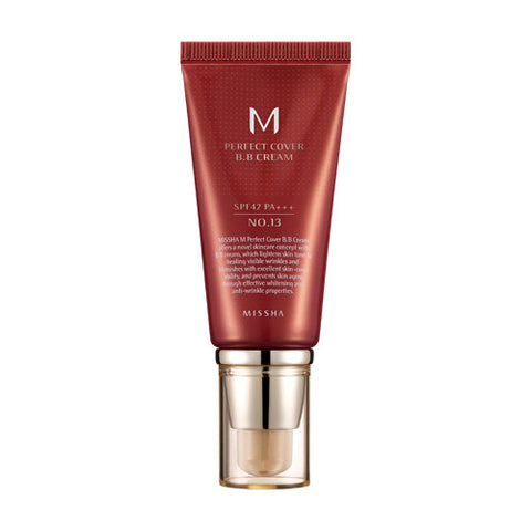 MISSHA M Perfect Cover BB Cream No.21 SPF 42 PA+++ | 谜尚幻彩红色BB霜