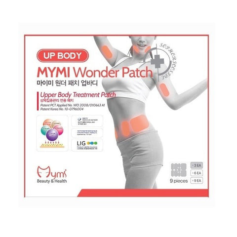 MYMI - Wonder Patch Up Body - Abdomen Treatment Patch | MYMI - 瘦小腹胳膊瘦腰贴瘦脸贴
