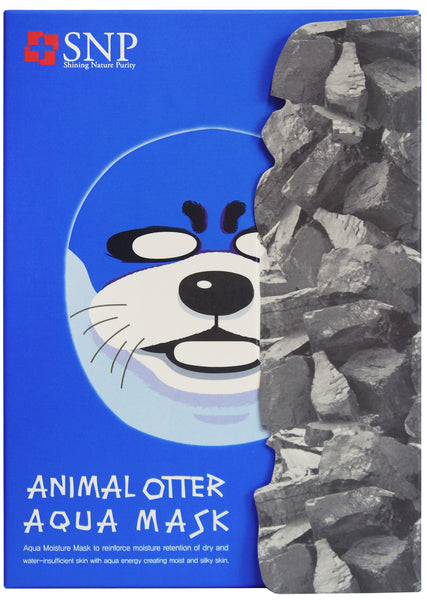 SNP - Animal Otter Aqua Mask - Coconut Water Facial Mask | SNP - 动物水獭补水保湿面膜