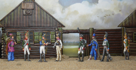 53  Borodino - interrogation of Russian P.O.W's
