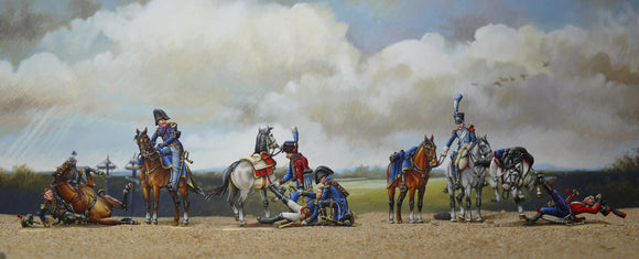 51  Borodino - French Artilley Staff under fire