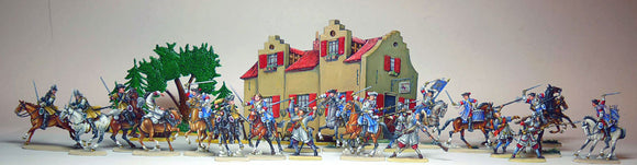 40  Louis XIV siege of Maastricht - all figures