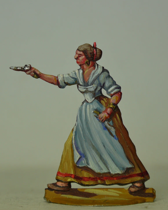 Guerillera - Glorious Empires-Historical Miniatures