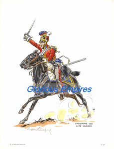 Print 24: Angleterre 1815 Life Guards - Glorious Empires-Historical Miniatures