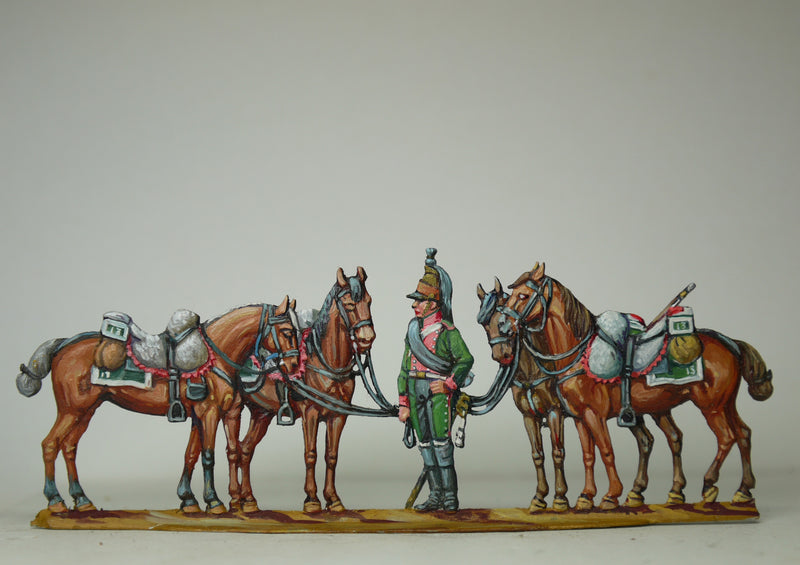 Horseholder - Glorious Empires-Historical Miniatures