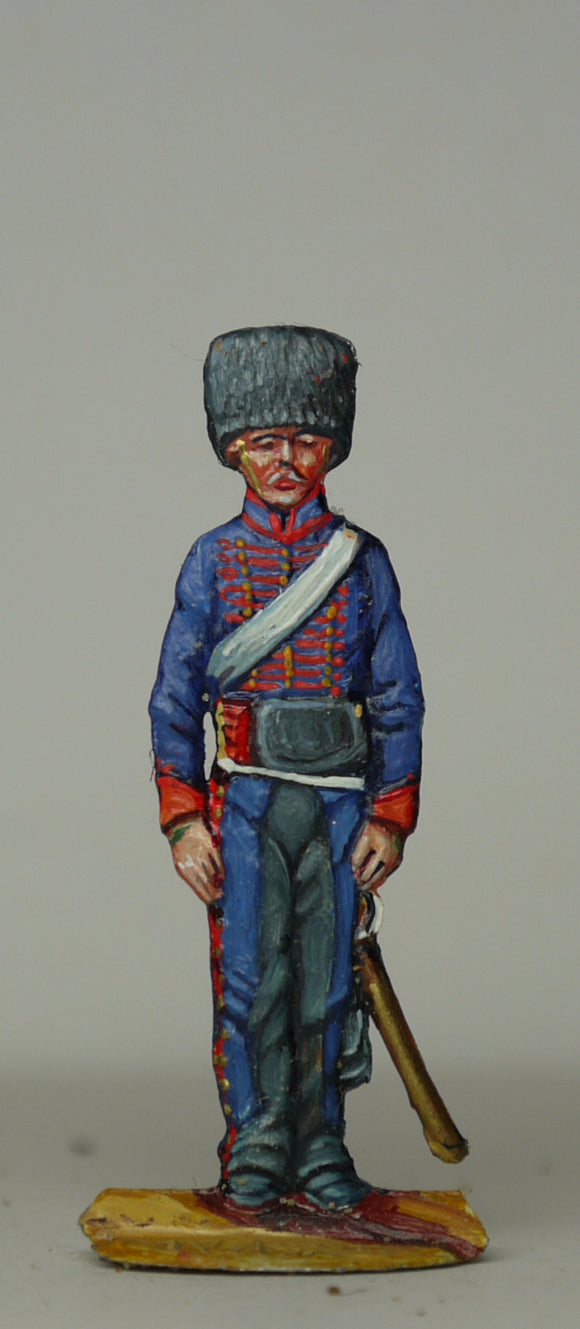 gunner with small fuses bag - Glorious Empires-Historical Miniatures