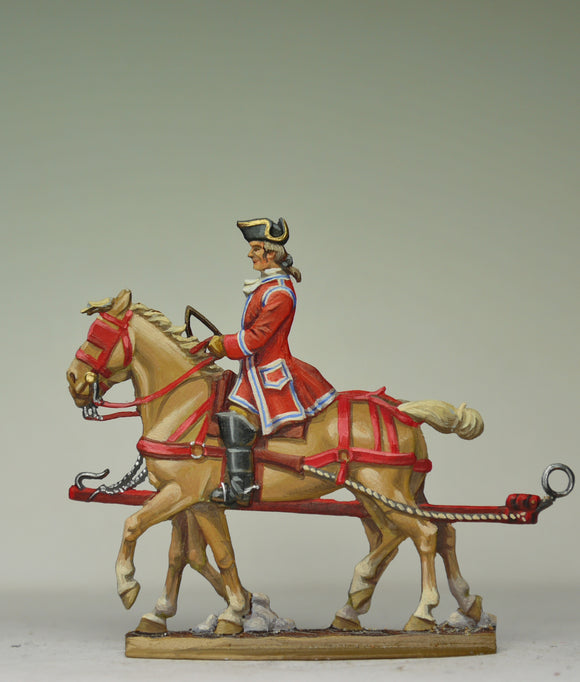 Horseteam rear - Glorious Empires-Historical Miniatures