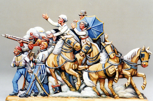 Defending, 1-sided - Glorious Empires-Historical Miniatures