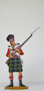 Soldier musket loaded diagonal - Glorious Empires-Historical Miniatures