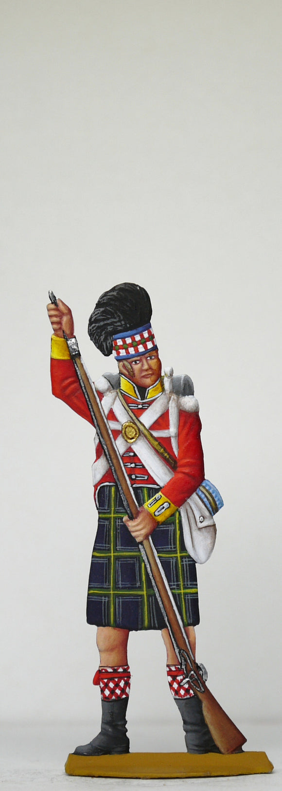 Soldier loading musket - Glorious Empires-Historical Miniatures