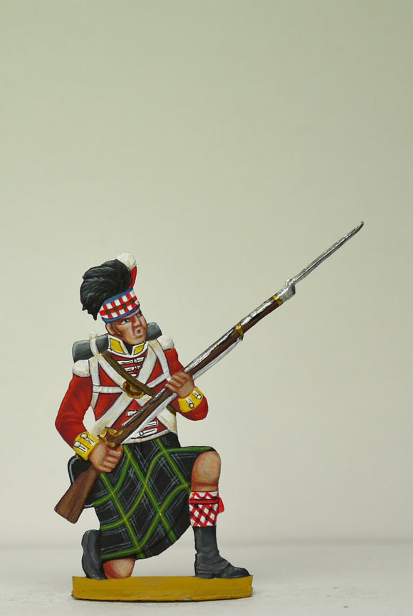 Soldier kneeling, alarmed - Glorious Empires-Historical Miniatures