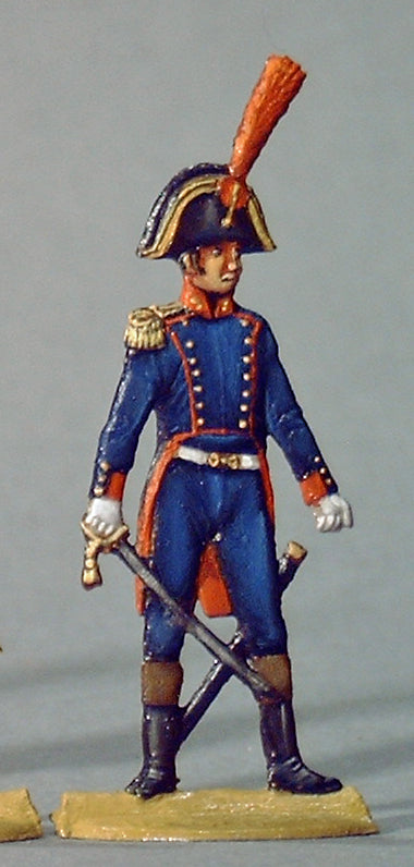 Officer line artillery - Glorious Empires-Historical Miniatures