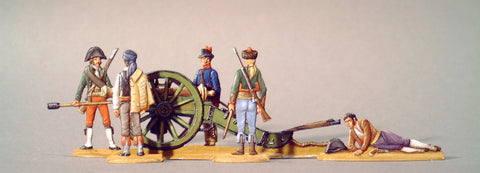 AA - set 29.2 - Spanish Guerillero Artillery, full set