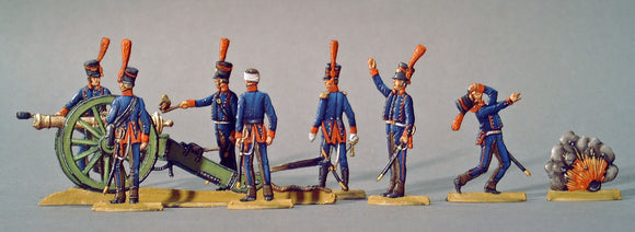 AA - Spanish Horse Artillery, full set - Glorious Empires-Historical Miniatures