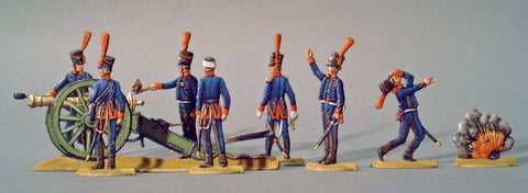 AA - set 29.3 - Spanish Horse Artillery, full set