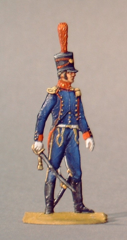 Horse artillery officer - Glorious Empires-Historical Miniatures