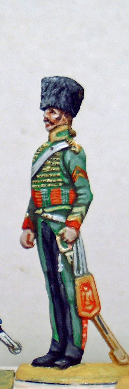Chasseur a cheval, guard duty - Glorious Empires-Historical Miniatures