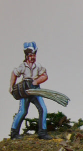 trooper trowing out bucket of water - Glorious Empires-Historical Miniatures