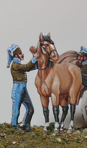 trooper maintaining his transport - Glorious Empires-Historical Miniatures