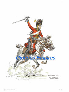 print 23 : 2dDragoons Scots Greys. - Glorious Empires-Historical Miniatures