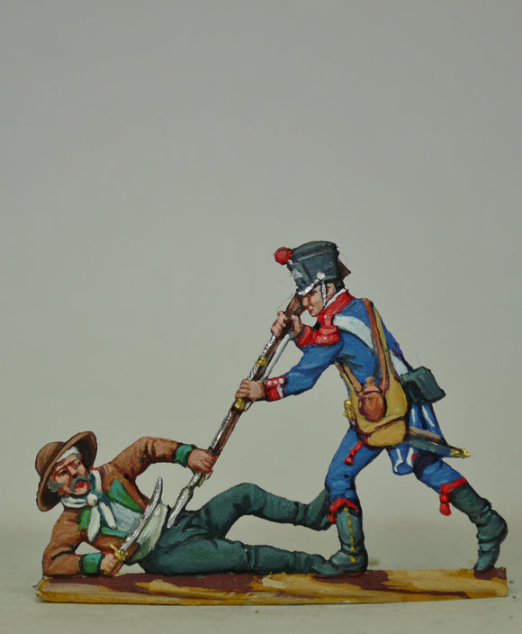 Couple fighting - Glorious Empires-Historical Miniatures