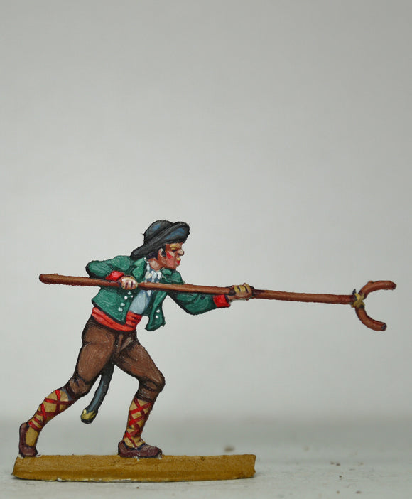 Man pushing ladder down - Glorious Empires-Historical Miniatures