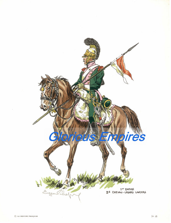 print 15 : 3eme Chevaux Legers Lanciers - Glorious Empires-Historical Miniatures