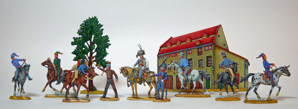 AA - Cavalry Riding school - Glorious Empires-Historical Miniatures