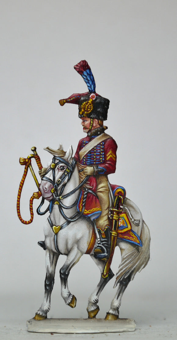 Trumpeter, Guard Chasseurs - Glorious Empires-Historical Miniatures
