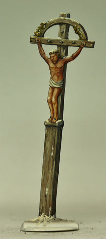 Jesus on the cross near by Eylau