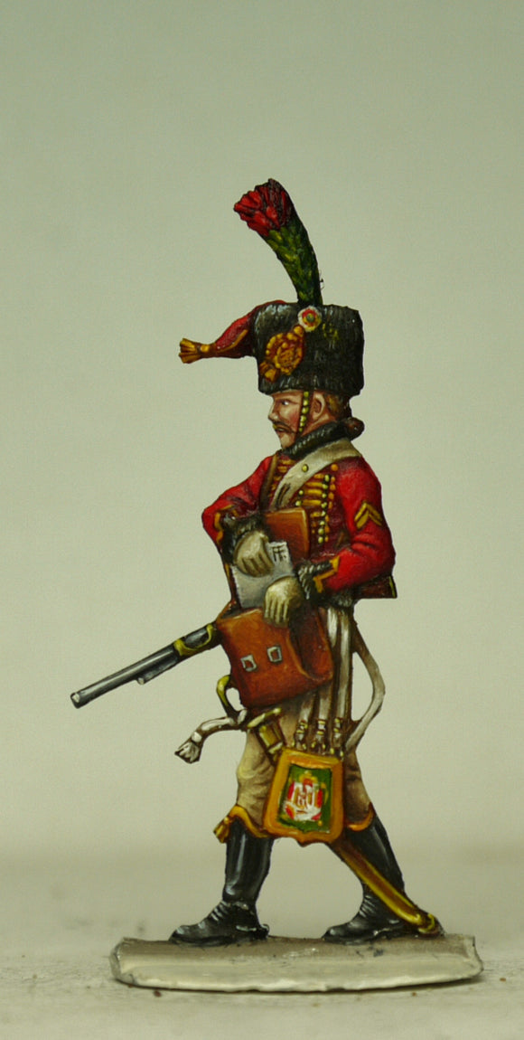 Guard Chasseur, Escorte, with maps - Glorious Empires-Historical Miniatures