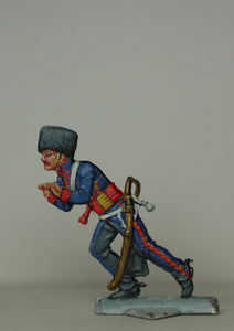 Gunner pushing gun-barrel - Glorious Empires-Historical Miniatures