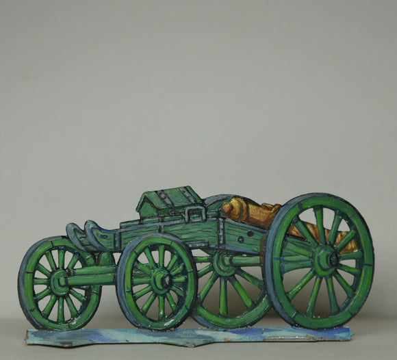 Canon on avant-train - Glorious Empires-Historical Miniatures