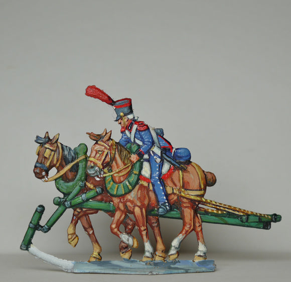 Rear horse-team - Glorious Empires-Historical Miniatures