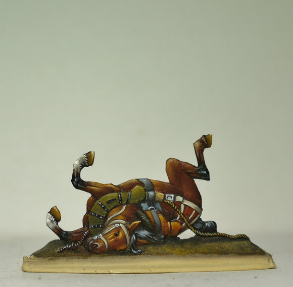 Dead train horse - Glorious Empires-Historical Miniatures