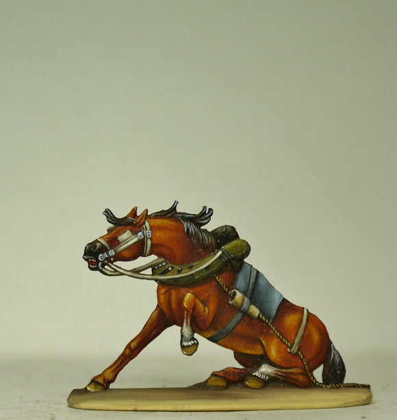 Crippled horse - Glorious Empires-Historical Miniatures