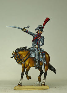 Officier train d'artillerie de la Garde - Glorious Empires-Historical Miniatures