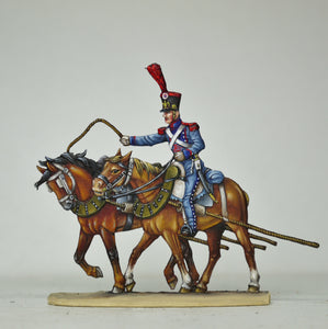 Horseteam, front - Glorious Empires-Historical Miniatures