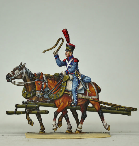 Horseteam, rear - Glorious Empires-Historical Miniatures
