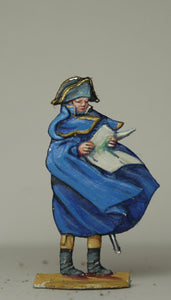 French army officer with map - Glorious Empires-Historical Miniatures