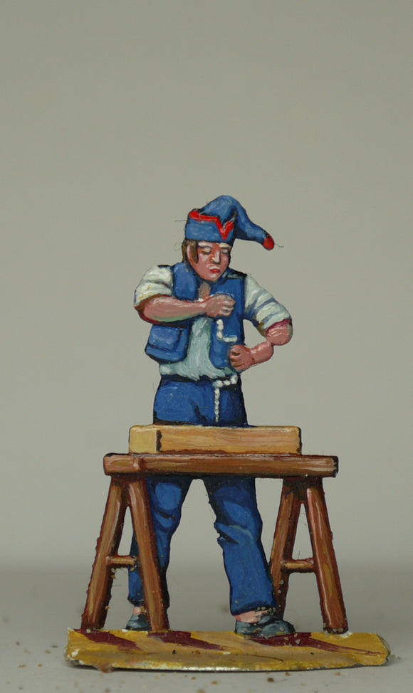 Carpenter drilling - Glorious Empires-Historical Miniatures