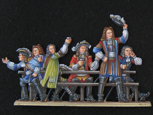 English officers - Glorious Empires-Historical Miniatures