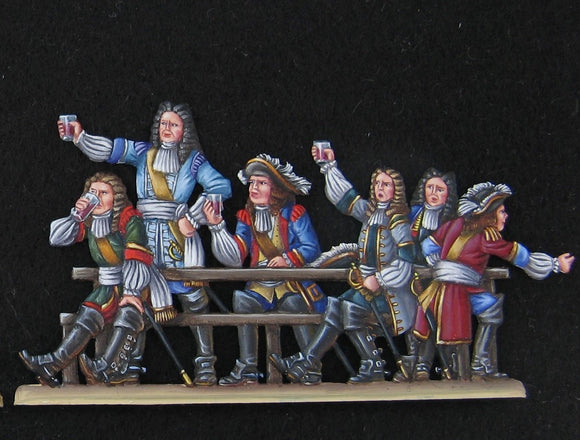French officers - Glorious Empires-Historical Miniatures