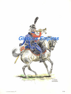 print 85 : 1er. Empire Hussard - Glorious Empires-Historical Miniatures